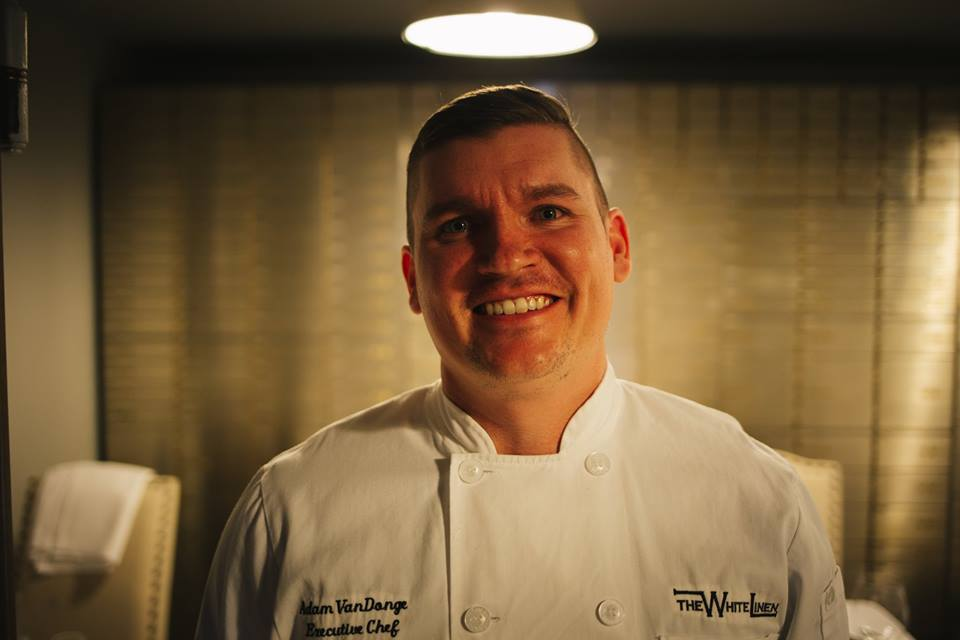 Chef Adam smiling